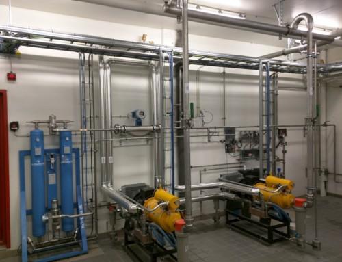 Biogas opgraderingsanlæg leveret til Hamar kommune